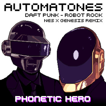 Daft Punk: Automatones (Robot Rock Remix) cover art