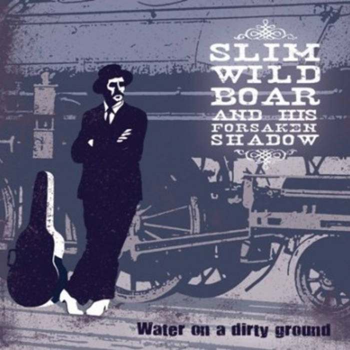 Water on a dirty ground cover art