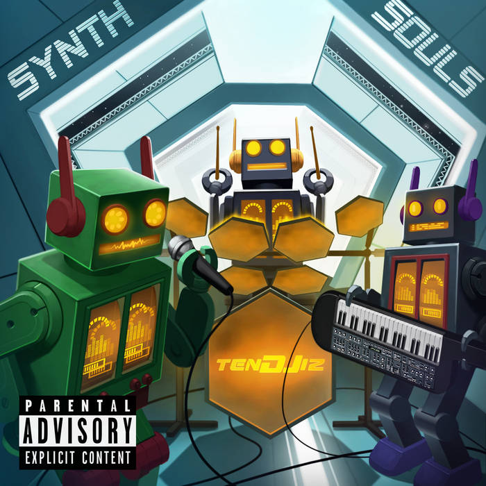 Synth Souls (Synthesizer Soul meets Hip-Hop) cover art