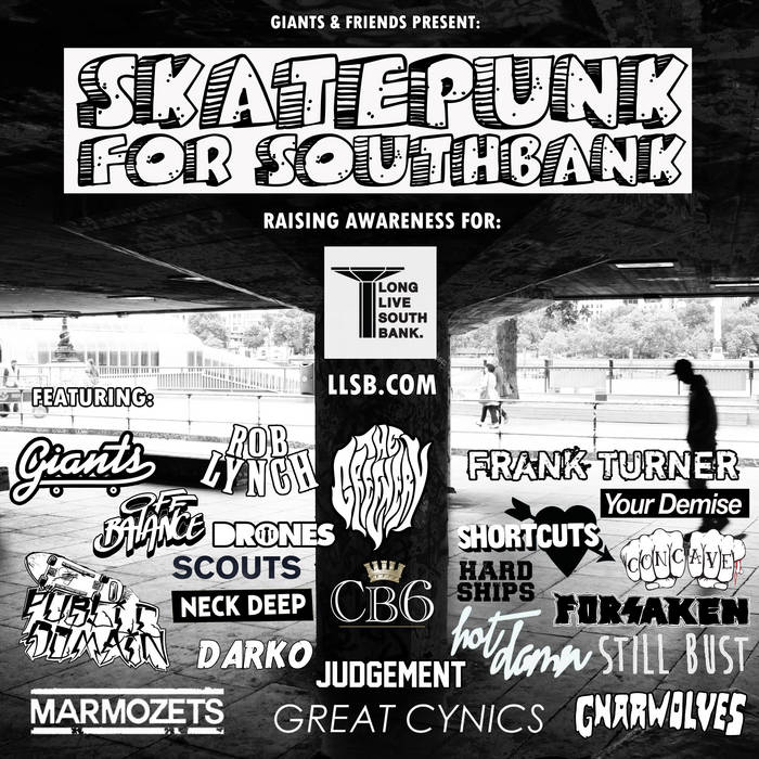 SkatePunkForSouthBank cover art