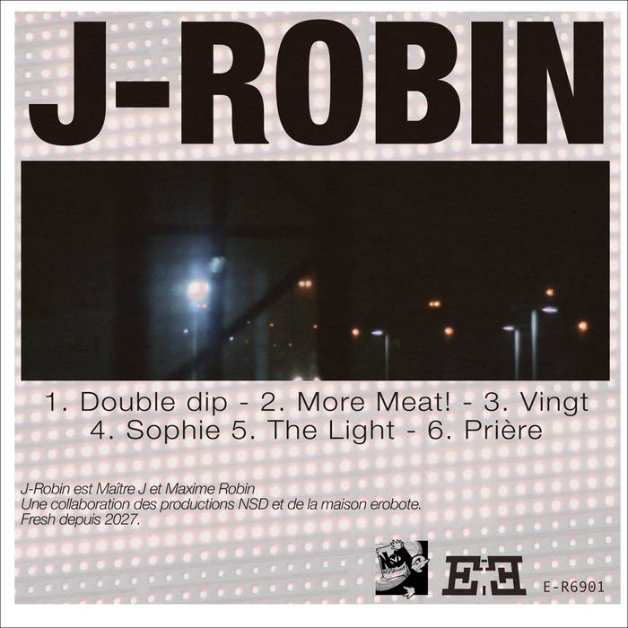 J-Robin [EP] cover art