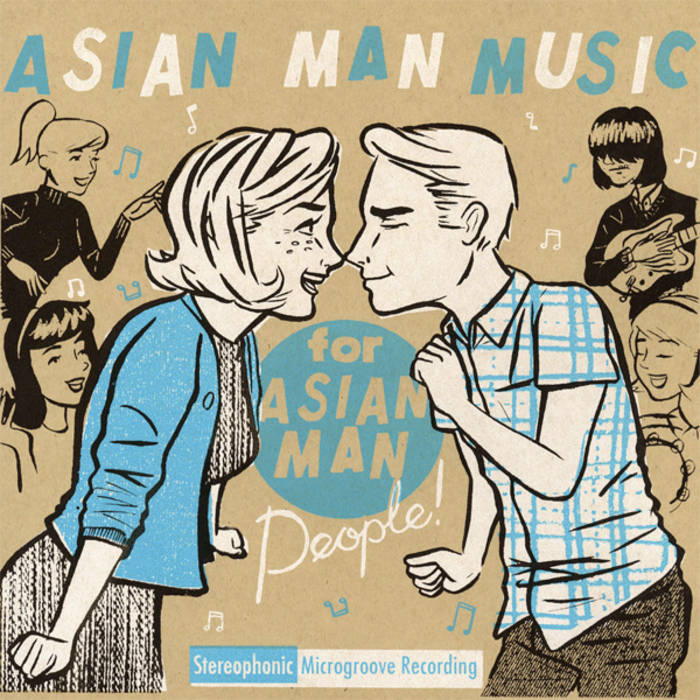 Asian Man Music for Asian Man People cover art