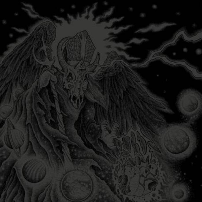 Split LP w/ LAZARUS BLACKSTAR cover art
