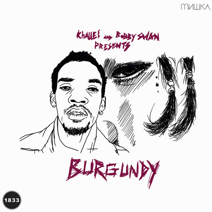 Khallee - Burgundy cover art