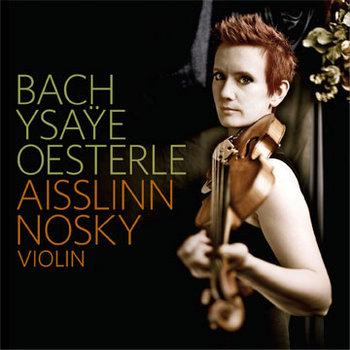 Bach Ysaÿe Oesterle cover art