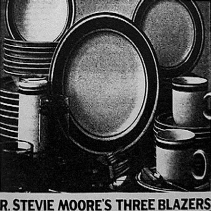 R. Stevie Moore's Three Blazers cover art