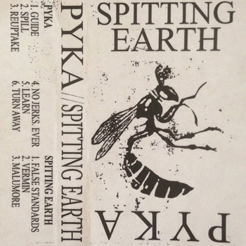 Split with Spitting Earth cover art