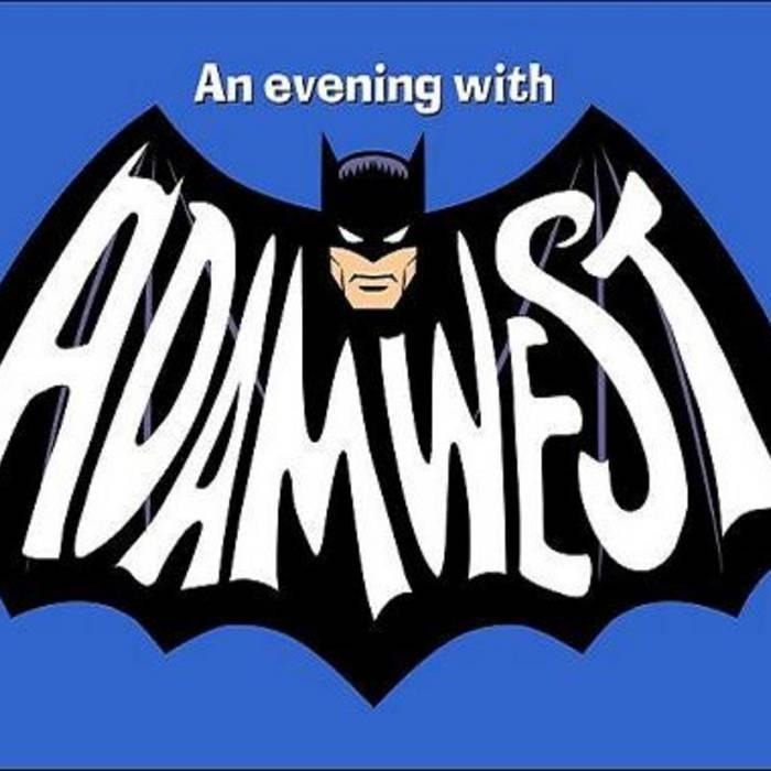 """An Evening With ADAM WEST"" cover art"