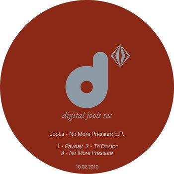 No More Pressure E.P. cover art