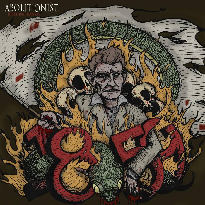 bleeding kansas (digital EP) cover art