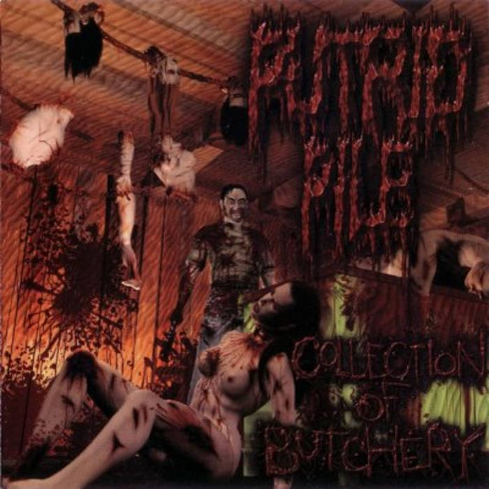 PUTRID PILE - Collection of Butchery cover art
