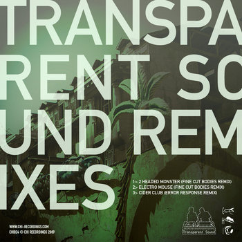 Transparent Sound Remixes cover art