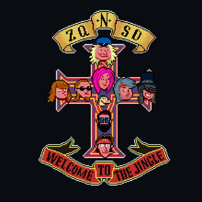 ZQSD.fr : Welcome to the jingle cover art