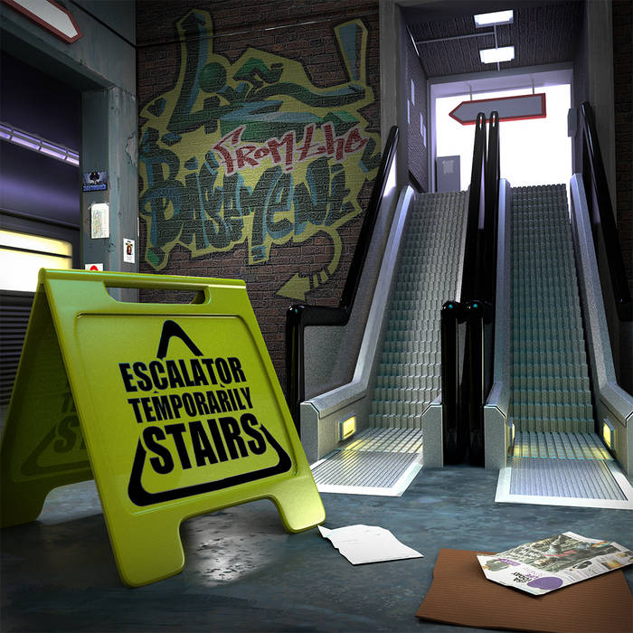 Temporarily Stairs cover art