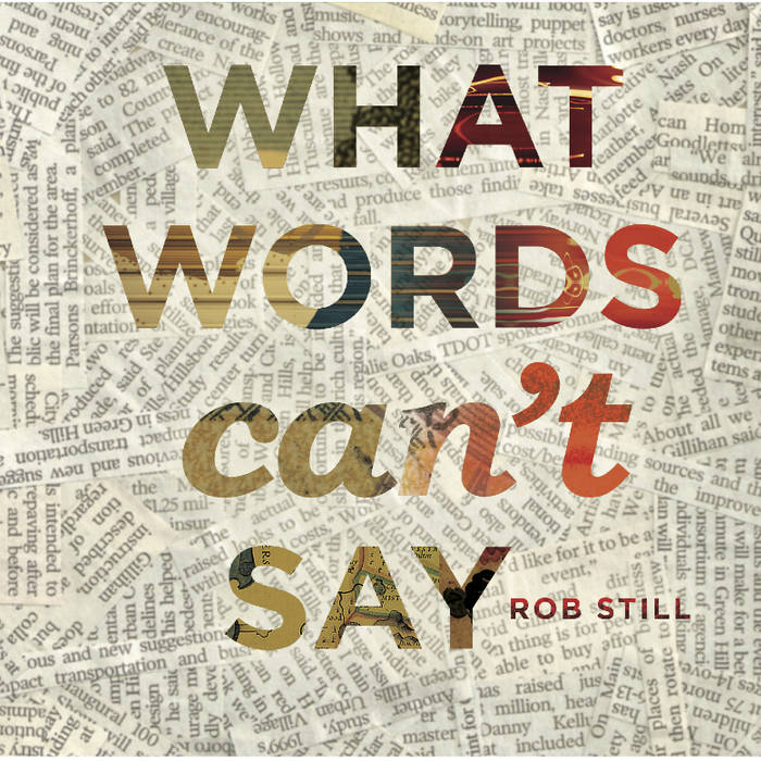 What Words Can't Say cover art