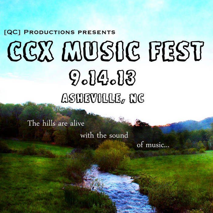 CCX Music Fest 2013 Sampler cover art
