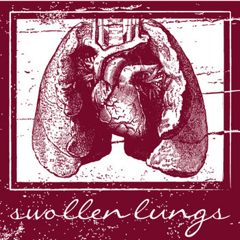 "Swollen Lungs 7"" compilation cover art"