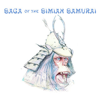 Saga Of The Simian Samurai 5th Anniversary Edition cover art