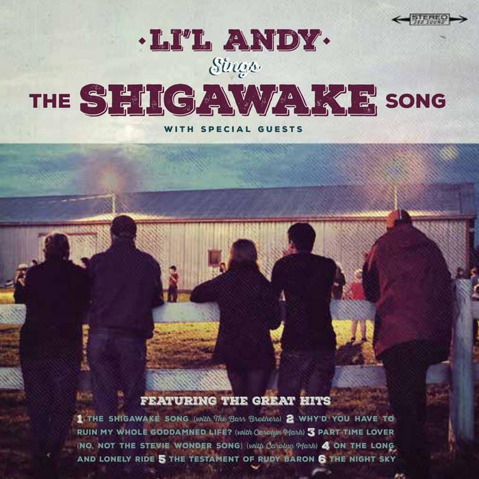 "...Sings ""The Shigawake Song"" cover art"