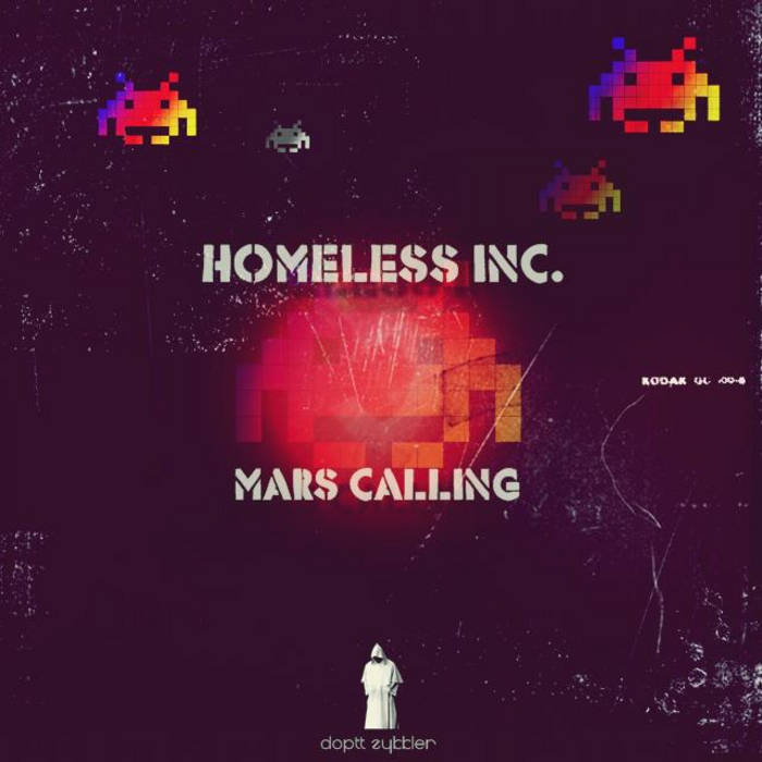 Mars Calling EP DZ-024 cover art