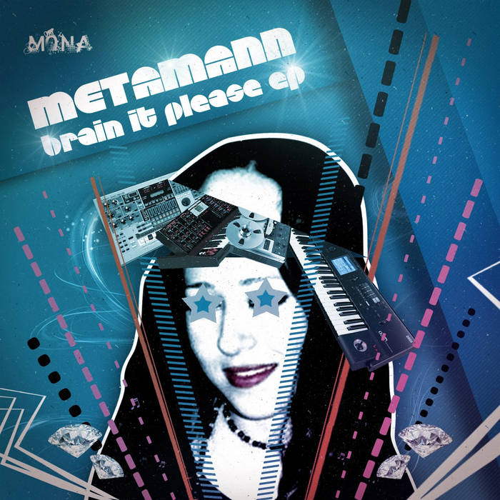 Metamann - Brain it please EP cover art
