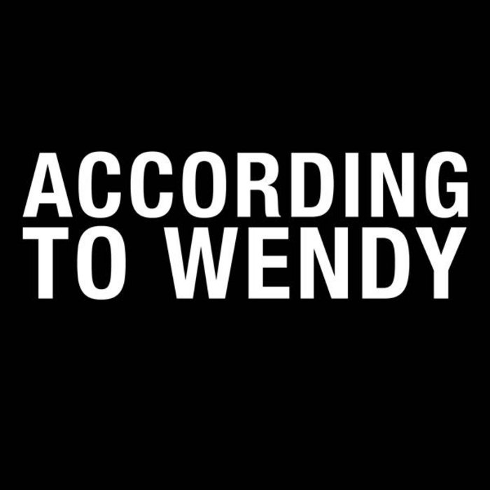 According To Wendy cover art