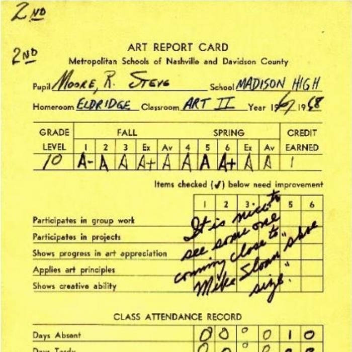 Report Card cover art