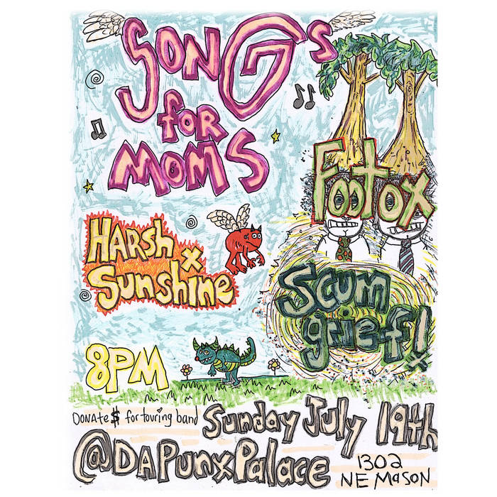 2009-07-19 Da Punx Palace (Songs For Moms) cover art