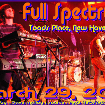 Live @ Toad's Place 3-29-13 cover art