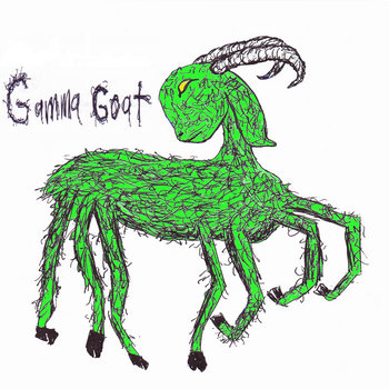 Glowing Green And Grazing In The Backyard cover art