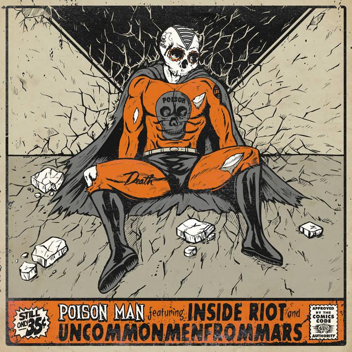 Split 7'' w/ Uncommonmenfrommars cover art