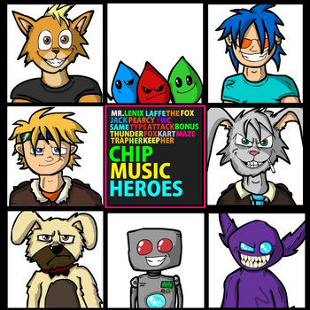 Project Chipmusic Heroes cover art