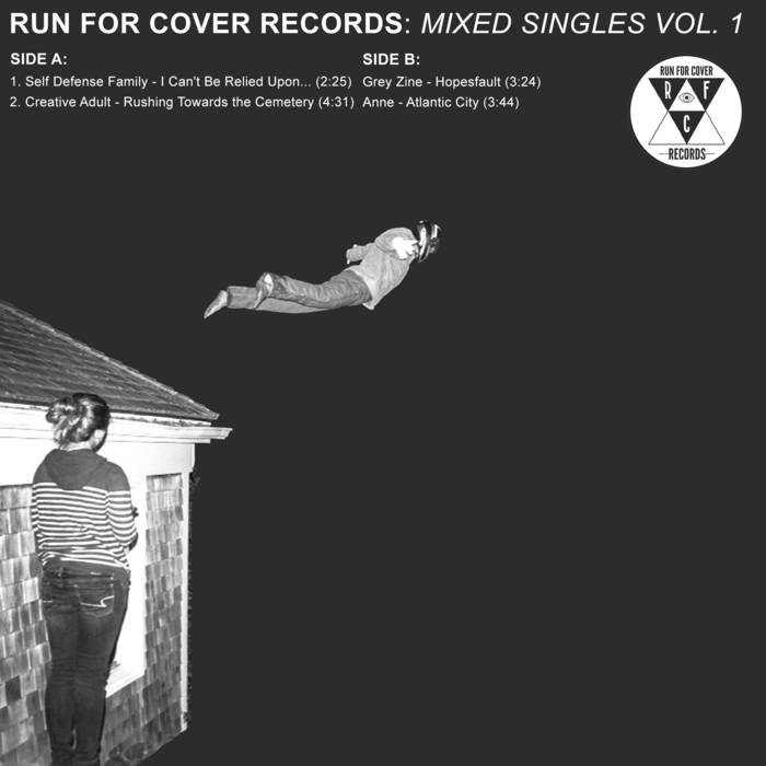 "Run For Cover Records - Mixed Singles Vol. 1 7"" cover art"