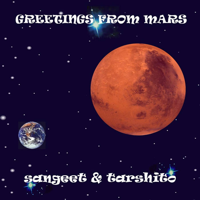 GREETINGS FROM MARS cover art