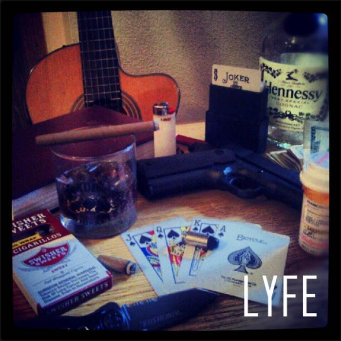 L.Y.F.E.(Instrumental Mixtape) cover art