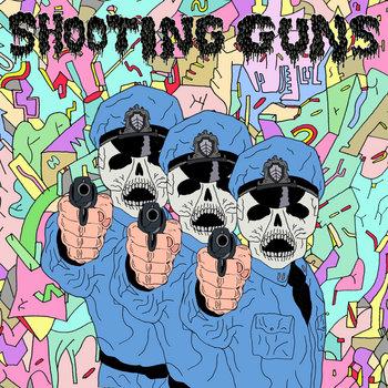"""Shooting Guns/Krang Split 7"""" cover art"""