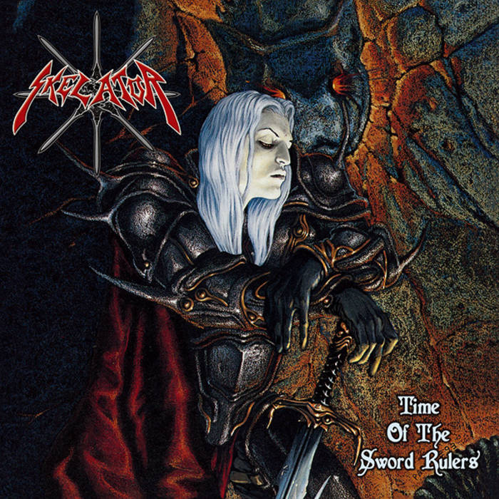 "SKELATOR ""Time Of The Sword Rulers"" cover art"