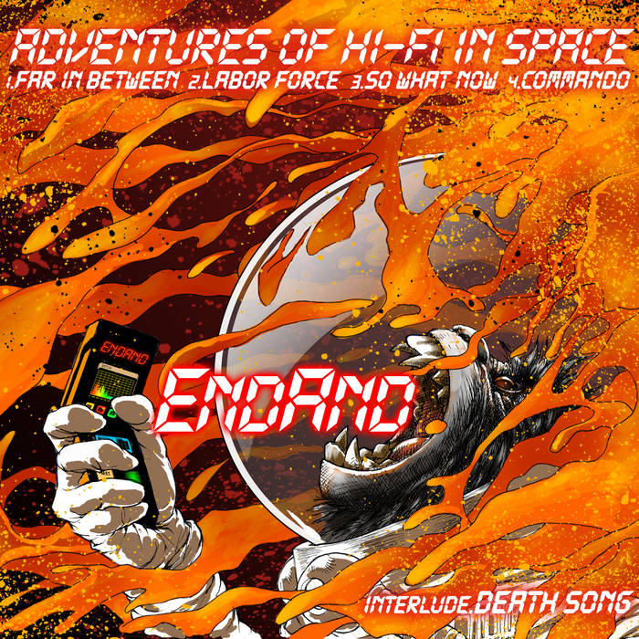 Adventures of Hi-Fi in Space cover art