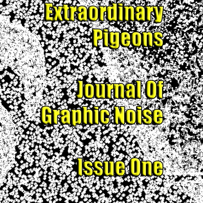 Journal Of Graphic Noise, Issue 1 cover art