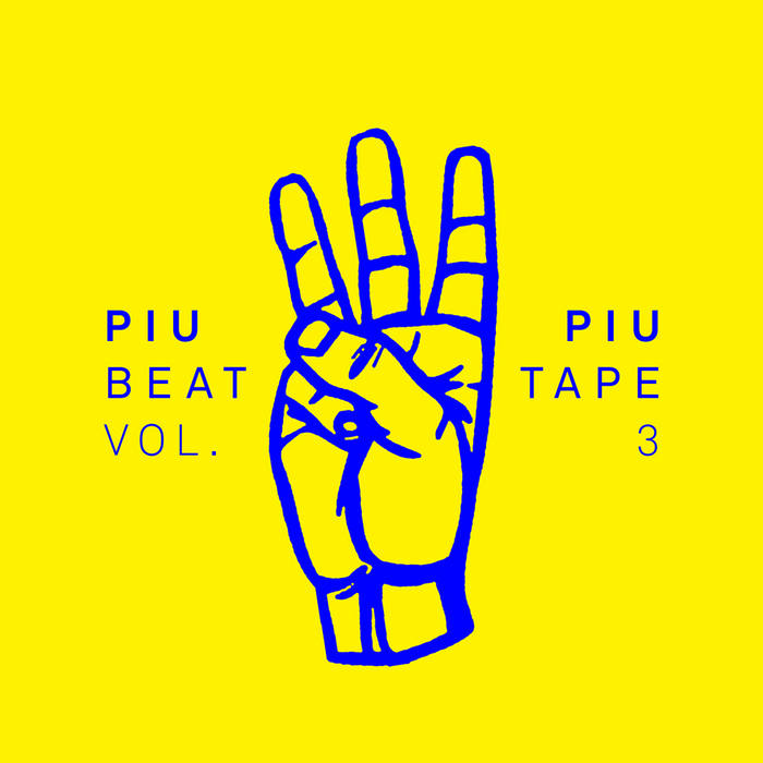 PIU PIU beat tape III cover art