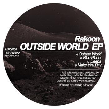 [USKY008] Outside World EP cover art