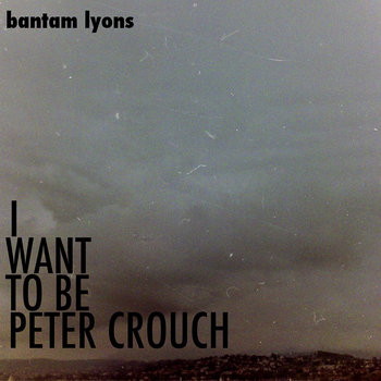 I WANT TO BE PETER CROUCH cover art