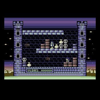 Nanako in Classic Japanese Monster Castle OST cover art