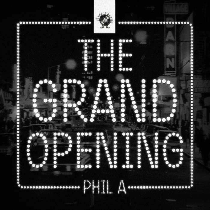 The Grand Opening E.P. cover art