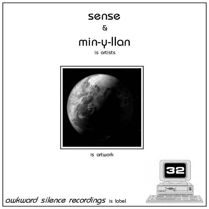 Sense / Min-Y-Llan - split EP cover art