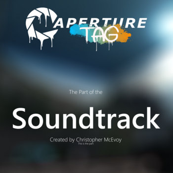 Aperture Tag: The Paint Gun Testing Initiative Soundtrack cover art