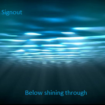 Below shining through cover art