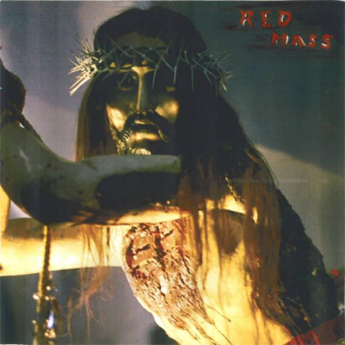 "RED MASS- Jesus 12"" cover art"
