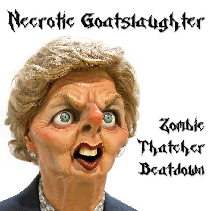 Zombie Thatcher Beatdown cover art