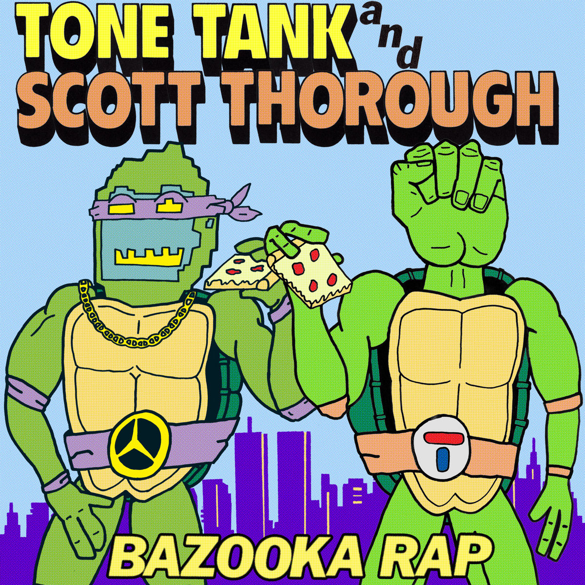 Album/Single Cover for the song Bazooka Rap by Tone Tank and Scott Thorough